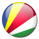 seychelles,flag,country icon