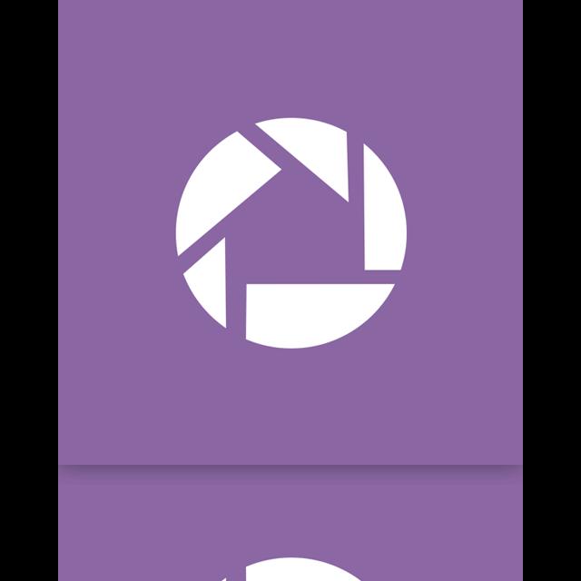 mirror, picasa, google icon
