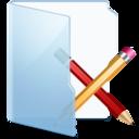Folder Blue Apps icon