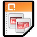presentation, powerpoint icon
