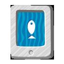 file,fish,paper icon