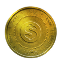 coin, gold, liqpay icon