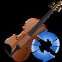 Refresh, Violin icon