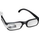Glasses, Google, Prototype icon