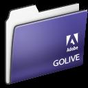Adobe, Cs, Folder, Golive icon