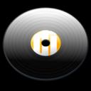 record, music, lp icon
