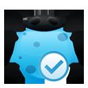 fixed, bug icon
