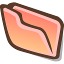 Directory visiting icon