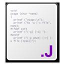 j, Source icon