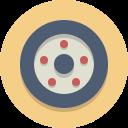 wheel, tire, car wheel icon