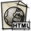 html, file, text, document, mime, gnome icon