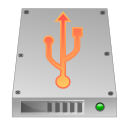 usb, hard drive, unmount, hard disk, hdd icon