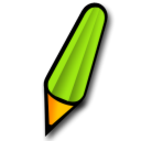pen lime icon