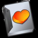 document, favourite, paper, file icon