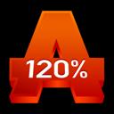 120%, Alcohol icon