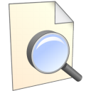 find, seek, file, search, document, paper icon