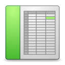 mimes office spreadsheet icon