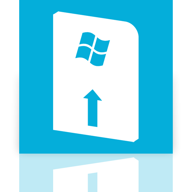 mirror, windows, update icon