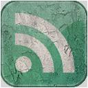 feed,green,grunge icon