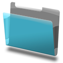 Blue, Labeled icon