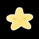 Ak, Happy, Starry icon