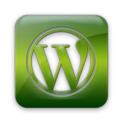 logo, wordpress, square icon