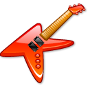 guitar, music, rock, metal, instrument, electric icon