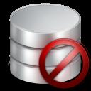 remove, del, database, db, delete icon