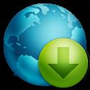 decrease, descending, download, descend, down, fall icon