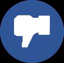 facebook, facebook dislike, dislike, blue facebook, like, facebook like icon
