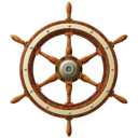 wheel, ship icon