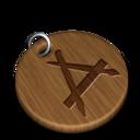 Woody art icon