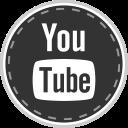 social, media, online, youtube icon