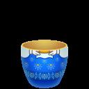 blue matreshka lower part icon
