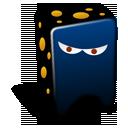 black, creature icon