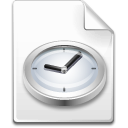 file, clock, temporary, time icon