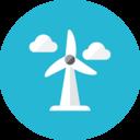 wind wheel icon
