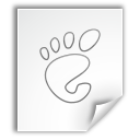 application, mime, gnome icon
