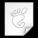 application, mime, gnome icon