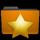orange,folder,bookmark icon