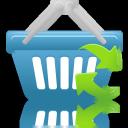 Basket, Refresh, Shopping icon