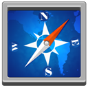 Safari, Square icon