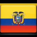 ecuador, country, flag icon
