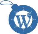 christmas, wordpress, ball icon