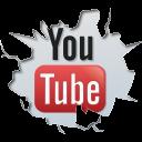 youtube, inside icon