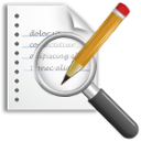 new, edit, replace, seek, search, writing, find, write icon