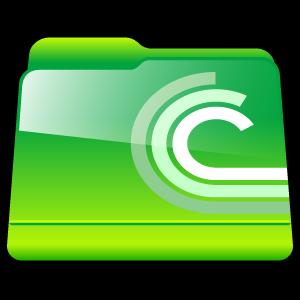 folder, bittorent, downloads icon