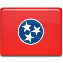 tennessee, flag icon