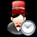 Clock, Magician icon