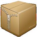 box, file, archiver, utilities, zip icon